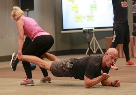 Partner Plank & Squat