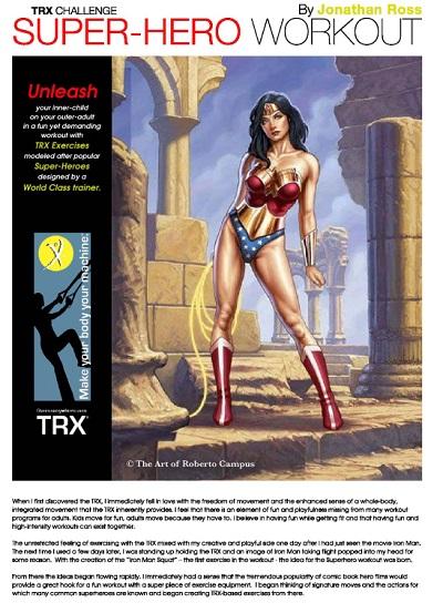 TRX Superhero Workout Cover