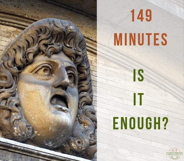 Is 149 Minutes Enough Exercise?